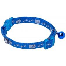 Obojek pro kočky modrý reflexní PETFACE