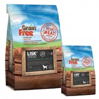 LISK GRAIN FREE Dog Light Trout with Salmon, Sweet Potato & Asparagus
