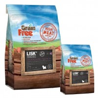 LISK GRAIN FREE Dog Small Breed Salmon with Trout, Sweet Potato & Asparagus