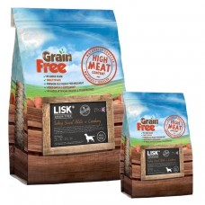 LISK GRAIN FREE Dog Turkey, Sweet Potato & Cranberry