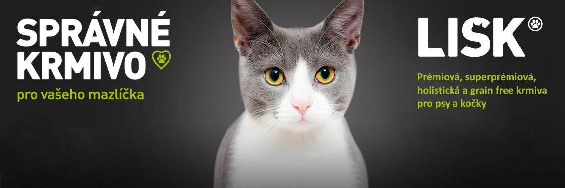 Krmivo LISK! pro kočky