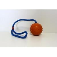 Tvrdý míček na laně 6 cm