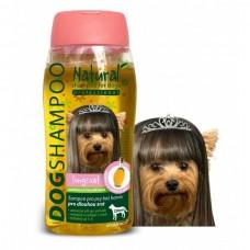 Šampon pro psy na dlouhou srst s jojobovým a norkovým olejem pro malá plemena 250 ml