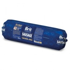 Brit Sausage with Chicken and Rice 800 g