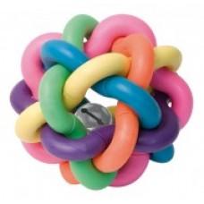 Propletený barevný míček 6 cm