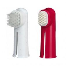 Zubní kartáček na prst 2 ks